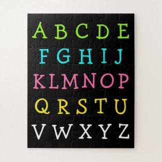 Fun English Alphabet Letters Puzzle