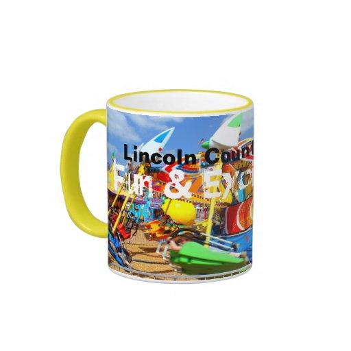 Fun & Excitement - Lincoln County Carnival mug