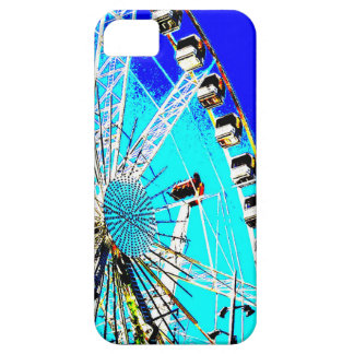 fun fair in amsterdam ferris wheel and high tower barely there iPhone 5 case