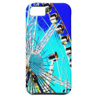 fun fair in amsterdam ferris wheel and high tower tough iPhone 5 case
