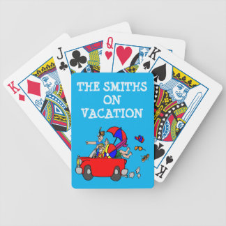 FUN FAMILY REUNION / VACATION PLAYING CARDS