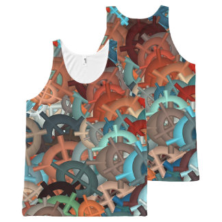 fun,fantasy and joy 2 All-Over print singlet