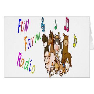 Fun Farm Radio Card