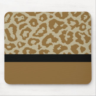 Fun & Fashionable Leopard Print Mousepad