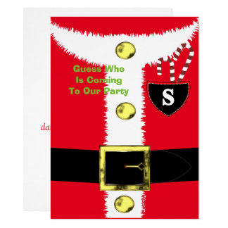 Fun Father Christmas Peronalized Card