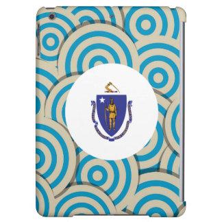 Fun Filled, Round flag of Massachusetts