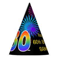 Fun Fireworks Rainbow Pattern 60