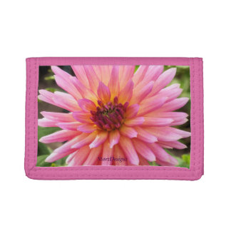Fun Flower Folder Tri-fold Wallet