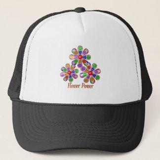 Fun Flower Power Trucker Hat