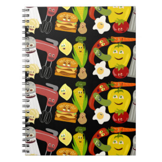 Fun Food Collage Notebooks