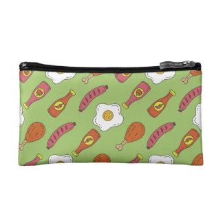 Fun Food Pattern Cosmetics Bags