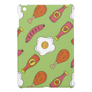 Fun Food Pattern iPad Mini Case