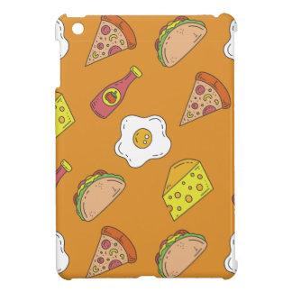 Fun Food Pattern iPad Mini Case