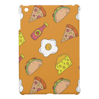 Fun Food Pattern iPad Mini Cover