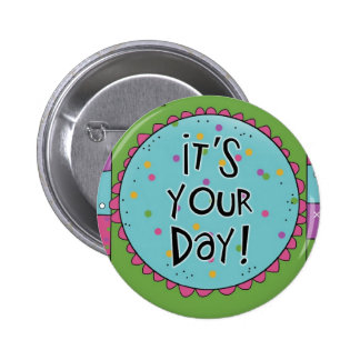 Fun for Birthdays - Special Occasions Pin Button