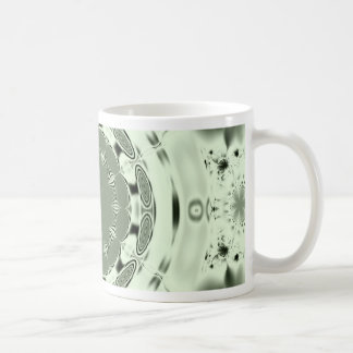 Fun Fractal Blank Background Coffee Mug