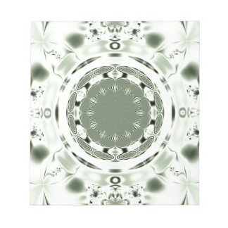 Fun Fractal Blank Background Notepad