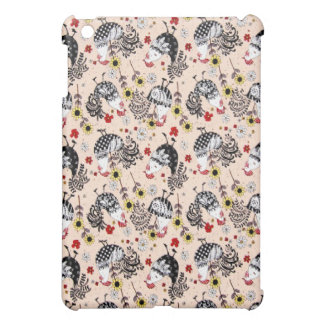 Fun Funky Roosters  Cover For The iPad Mini