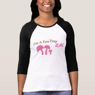 Fun Gal Pink mushies T-Shirt