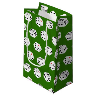 Fun Gambling Casino dice pattern tiled bag