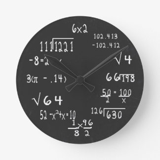 Fun Geek Math Clocks