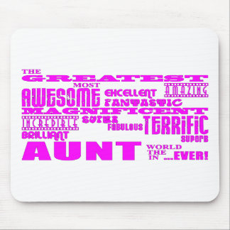 Fun Gifts for Aunts : Greatest Aunt Mousepad