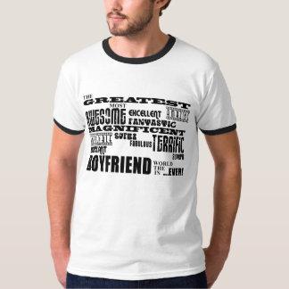Fun Gifts for Boyfriends : Greatest Boyfriend Tshirt