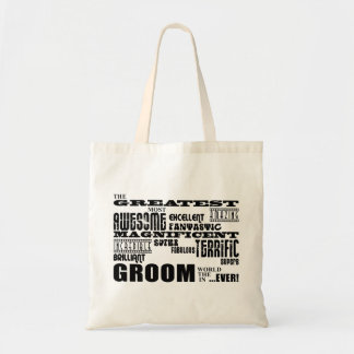Fun Gifts for Grooms : Greatest Groom Budget Tote Bag