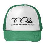 Fun golf hat for men | World's Okayest Golfer