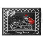 Fun gothic  steampunk  Christmas Cards
