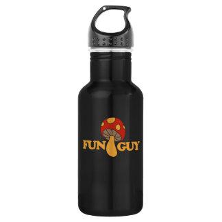fun guy fungi 532 ml water bottle