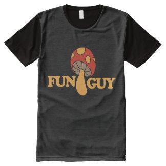 fun guy fungi All-Over print T-Shirt