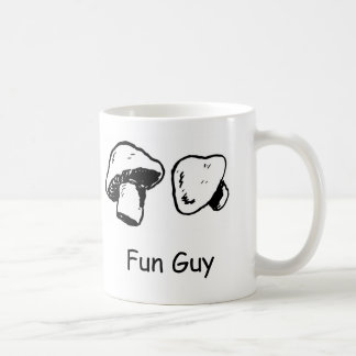 Fun Guy, Fungi Coffee Mug