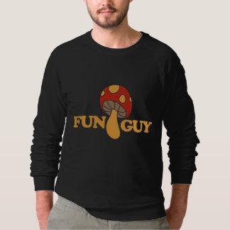 fun guy fungi sweatshirt