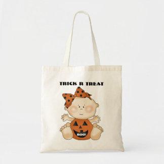 Fun Halloween Baby Girl Trick R Treat Bag