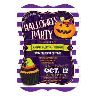 Fun Halloween Costume Party 13 Cm X 18 Cm Invitation Card