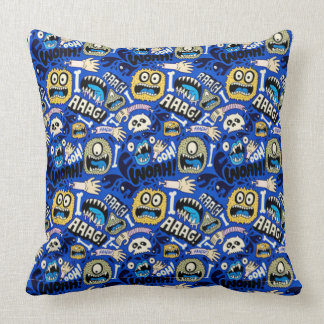 Fun Halloween Monster Pattern Cushion