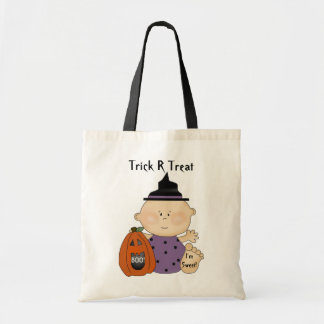Fun Halloween Pumpkin Baby Trick R Treat Bag