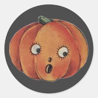 Fun Halloween Pumpkin Stickers