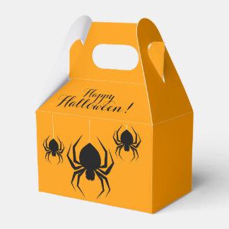 Fun Halloween Spiders Favour Box
