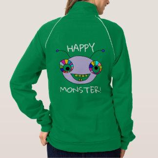 Fun HAPPY MONSTER Alien Design Jacket