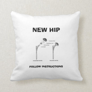Fun Hip Surgery - Assembly Required Cushion