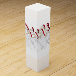 Fun Holiday Wine Gift Box with Pelicans