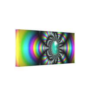 Fun House Stretched Canvas Prints
