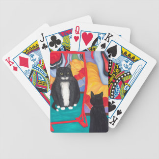 Fun House Fat Cat Bicycle Playing Cards
