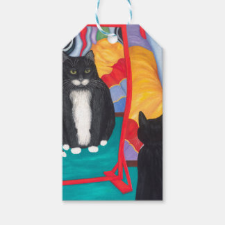 Fun House Fat Cat Gift Tags
