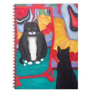 Fun House Fat Cat Notebooks