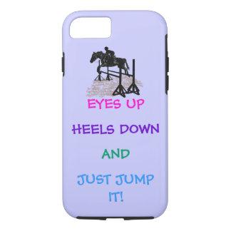 Fun Hunter/Jumper Equestrian iPhone 7 Case