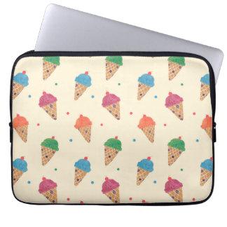 Fun Ice Cream Pattern Laptop Computer Sleeves