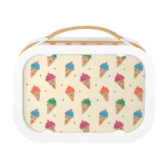Fun Ice Cream Pattern Lunchboxes